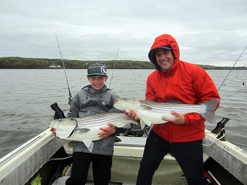 View the 2016 Striper Fishing on the Hudson River Photo Gallery